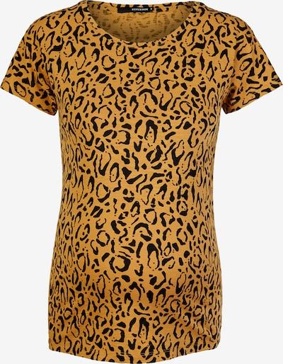 Supermom Shirt in de kleur Honing / Zwart, Productweergave