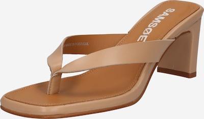 Samsoe Samsoe Sandale 'Brial' in beige, Produktansicht