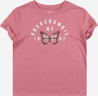 Abercrombie & Fitch Shirt in rosa / rosé / schwarz / weiß, Produktansicht
