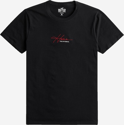 HOLLISTER Tričko - červená / čierna / biela, Produkt