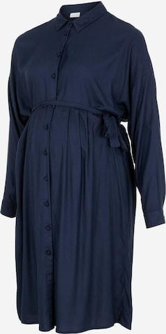 MAMALICIOUS Shirt Dress in Blue