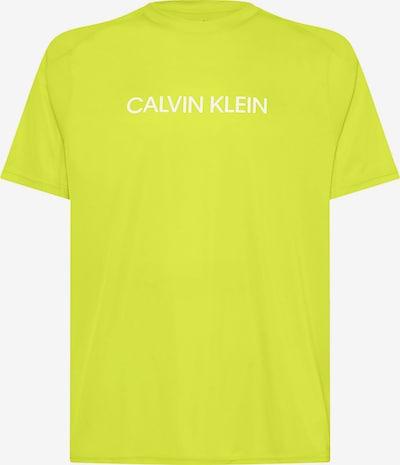 Calvin Klein Performance Funktionsshirt in kiwi / weiß, Produktansicht