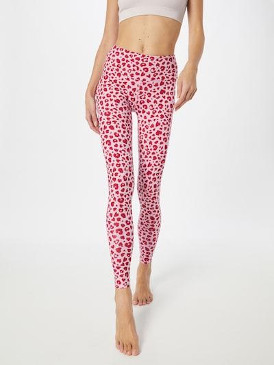Hey Honey Workout Pants in Pitaya / Pastel pink, View model