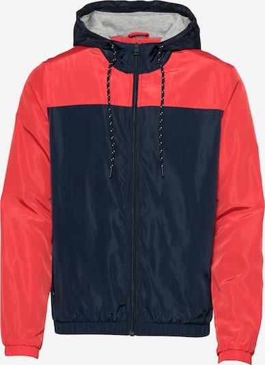Geacă de primăvară-toamnă !Solid pe bleumarin / roșu deschis, Vizualizare produs