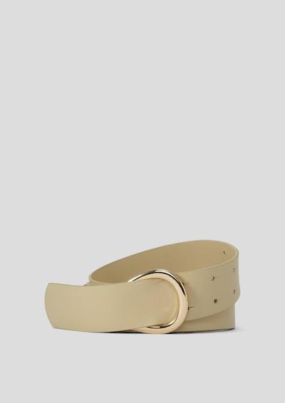s.Oliver BLACK LABEL Gürtel in beige, Produktansicht