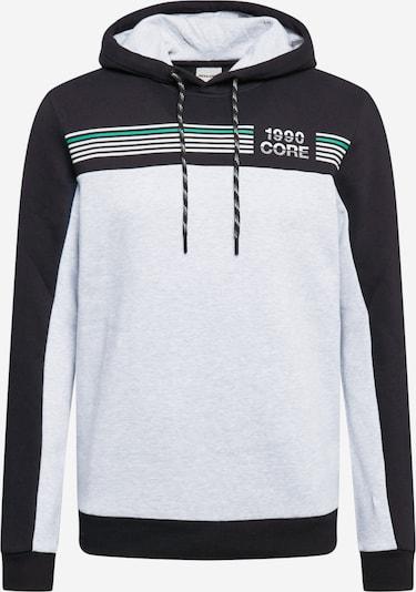 JACK & JONES Collegepaita 'Cargo' värissä musta / valkoinen, Tuotenäkymä