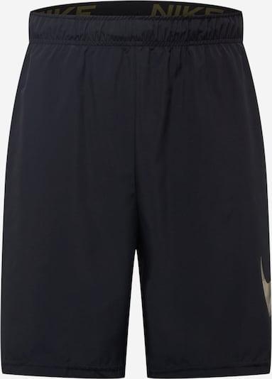 Sportinės kelnės iš NIKE, spalva – smėlio spalva / rusvai žalia / juoda, Prekių apžvalga