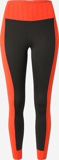 NIKE Sportbroek in de kleur Sinaasappel / Zwart, Productweergave