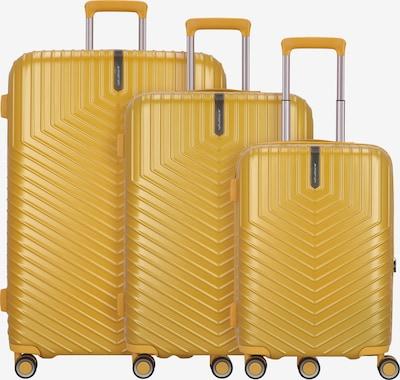 March15 Trading Kofferset 'Lotus' in gelb, Produktansicht