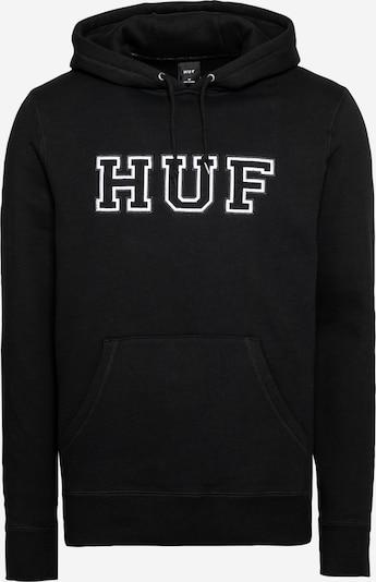 Felpa 'HARTFORD' HUF di colore nero / bianco, Visualizzazione prodotti