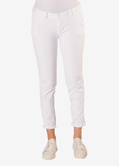 Le Temps Des Cerises 7/8-Hose 'LIDY' in weiß, Modelansicht