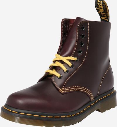 Dr. Martens Boots 'Pascal' in gelb / burgunder, Produktansicht