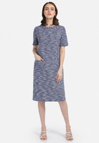HELMIDGE Kleid in blau / hellblau, Modelansicht