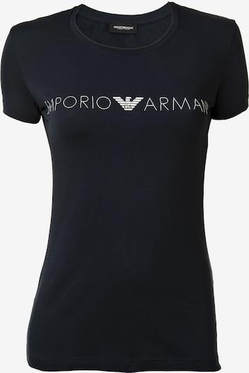 Emporio Armani T-Shirt in dunkelblau / weiß, Produktansicht