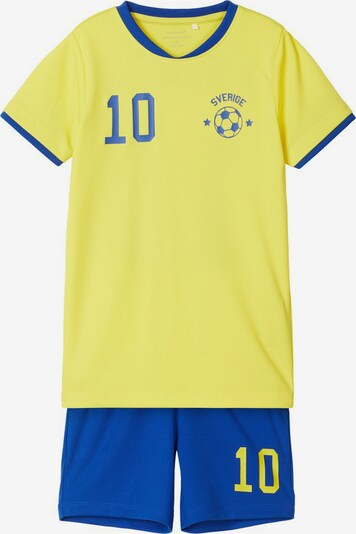 NAME IT Fußballtrikot in blau / gelb, Produktansicht