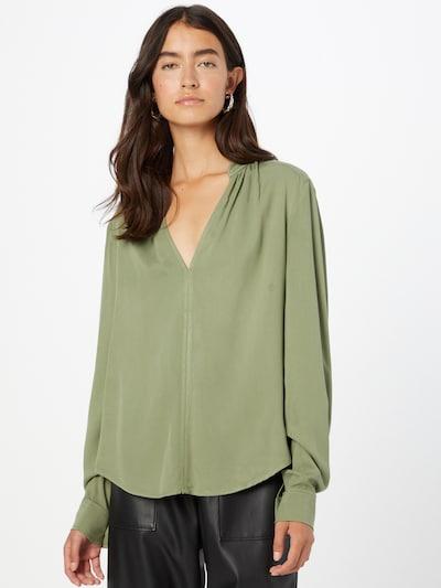 GUESS Bluse 'SIENNA' in oliv, Modelansicht