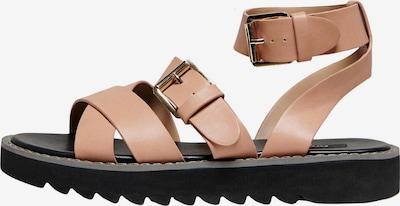 ONLY Sandaler med rem 'Malu' i rosé, Produktvisning