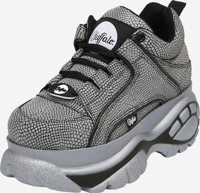 Sneaker low Buffalo London pe gri argintiu / negru, Vizualizare produs