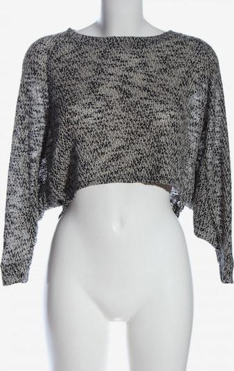 Staring at Stars Cropped Pullover in XS in hellgrau / schwarz, Produktansicht