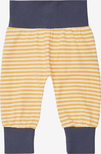 Pantaloni 'SJORS' Sense Organics di colore blu scuro / giallo / bianco, Visualizzazione prodotti