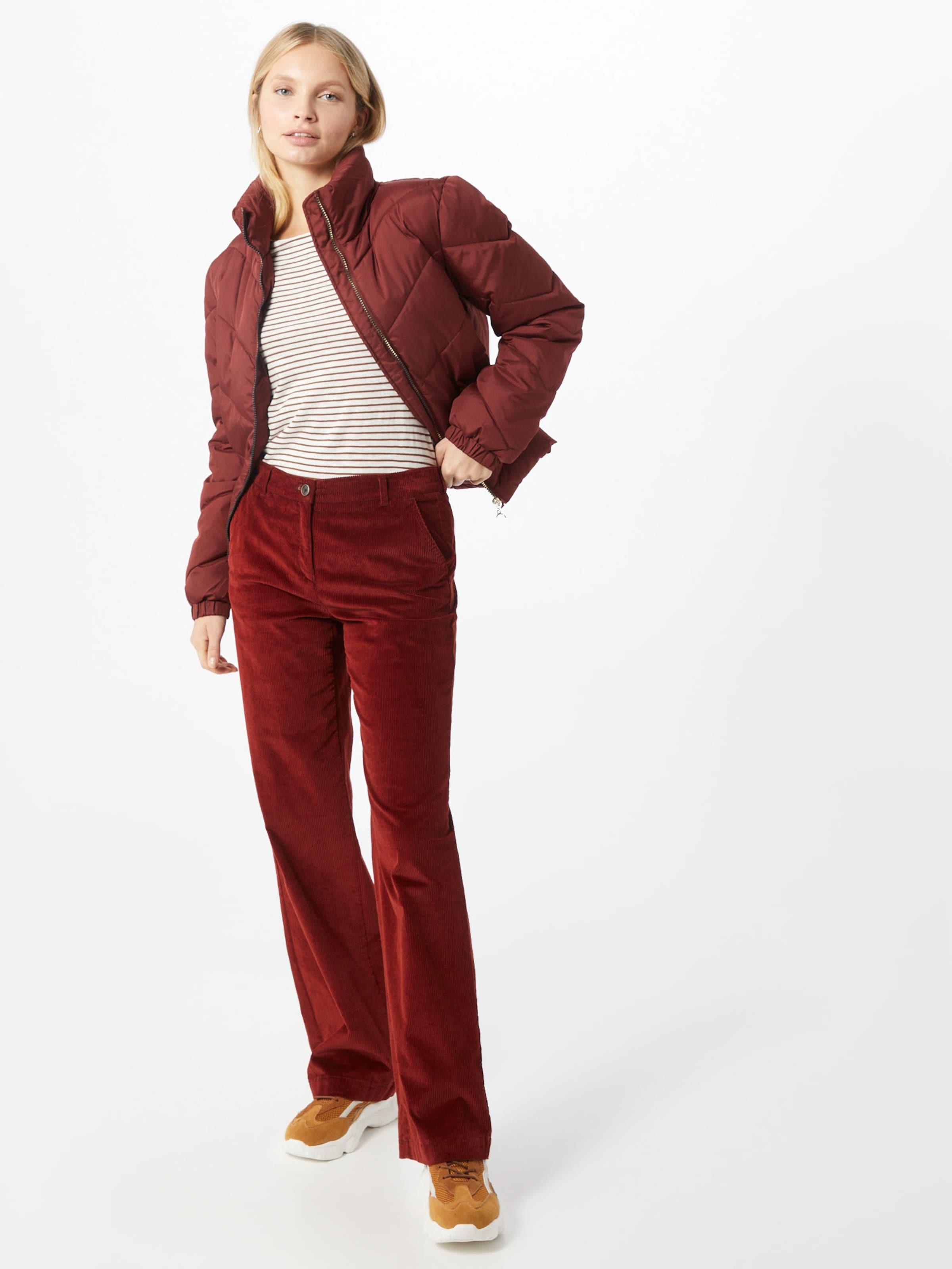 JACQUELINE de YONG Övergångsjacka i roströd
