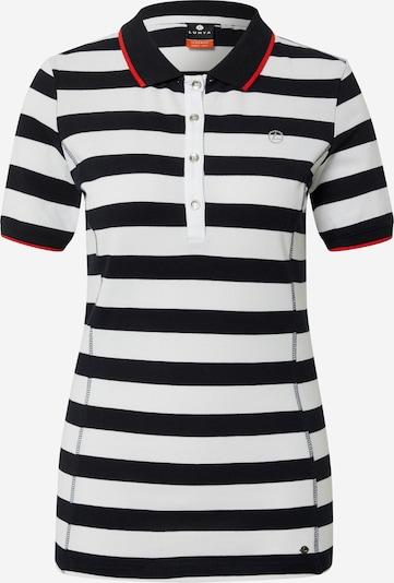 LUHTA Poloshirt 'AATILA' in dunkelblau / weiß, Produktansicht