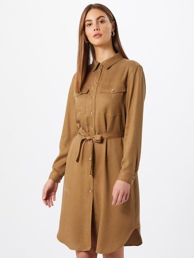 Rochie tip bluză 'Monica' Soft Rebels pe maro deschis, Vizualizare model