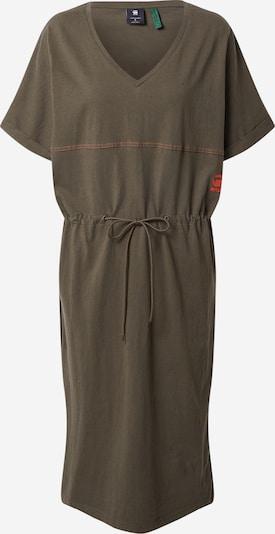 G-Star RAW Kleid in khaki / orange, Produktansicht