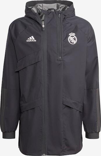 ADIDAS PERFORMANCE Jacke  'Real Madrid Travel Drill' in schwarz, Produktansicht