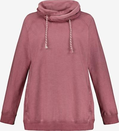 Ulla Popken Sweatshirt in hellpink, Produktansicht