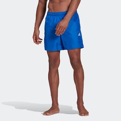 ADIDAS PERFORMANCE Boardshorts in de kleur Blauw / Wit: Vooraanzicht