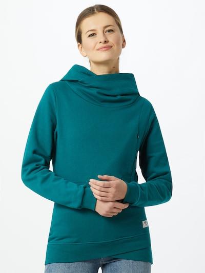 Picture Organic Clothing Sportief sweatshirt 'ENEA' in de kleur Petrol: Vooraanzicht