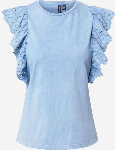 VERO MODA Shirt 'FOREVER' in de kleur Lichtblauw, Productweergave