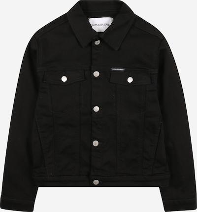 Calvin Klein Jeans Chaqueta de entretiempo en negro / blanco, Vista del producto