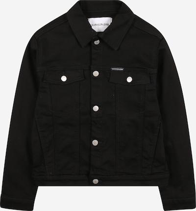 Calvin Klein Jeans Övergångsjacka i svart / vit, Produktvy