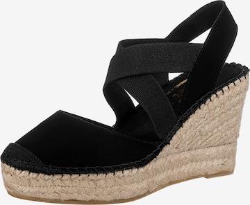 Vidorreta Sandale in Schwarz