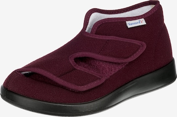 Varomed Slippers in Red