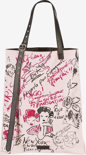 LOOKS by Wolfgang Joop Shopper in rosa / schwarz, Produktansicht