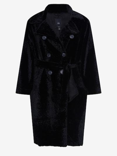 River Island Plus Mantel in schwarz, Produktansicht