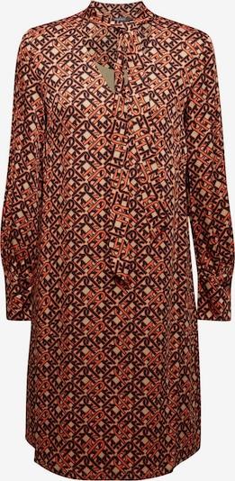 Esprit Collection Kleid in beige / koralle / schwarz, Produktansicht