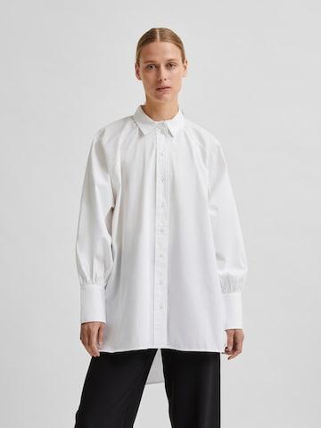 Camicia da donna 'Tilda' di SELECTED FEMME in bianco