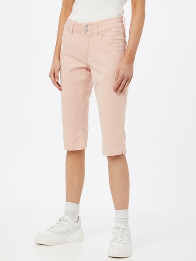 Q/S designed by Jeans in de kleur Lichtroze, Modelweergave