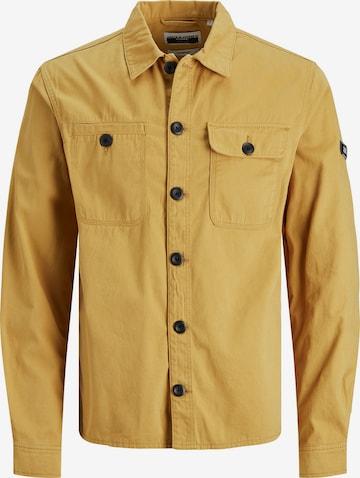 Chemise 'Ben' Jack & Jones Junior en jaune