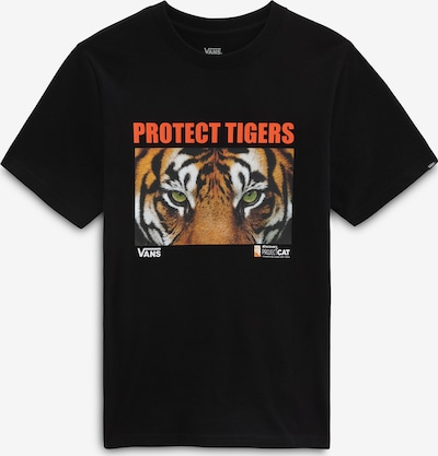 Tricou VANS pe portocaliu / roșu / negru / alb, Vizualizare produs