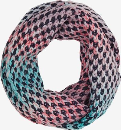 s.Oliver Sjaal in de kleur Navy / Turquoise / Pink, Productweergave