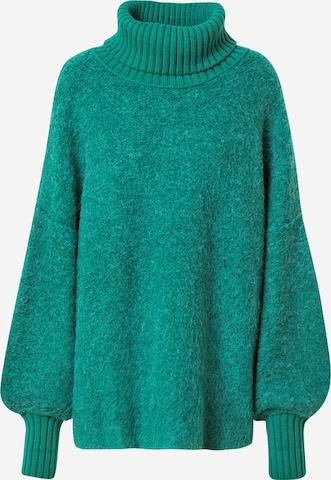 Free People Sweater 'MILO' in Green