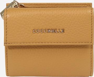 Coccinelle Geldbörse in Beige