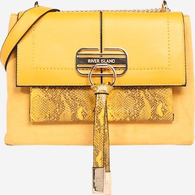 River Island Чанта за през рамо тип преметка в жълто, Преглед на продукта