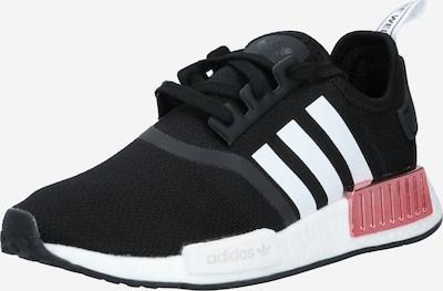 ADIDAS ORIGINALS Sneakers low 'NMD_R1' in Black / White, Item view