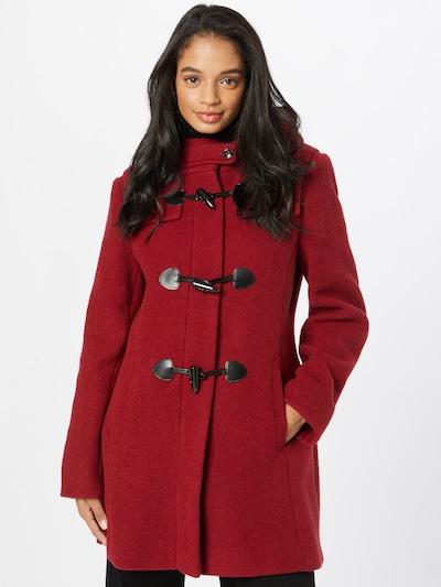 GIL BRET Ανοιξιάτικο και φθινοπωρινό παλτό σε σκούρο κόκκινο, Άποψη μοντέλου